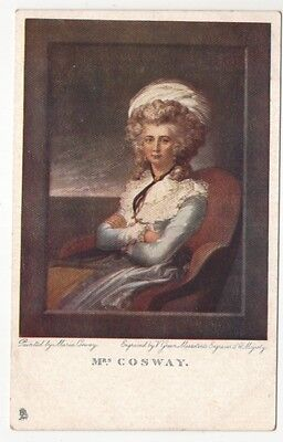 famous people postcard mrs cosway