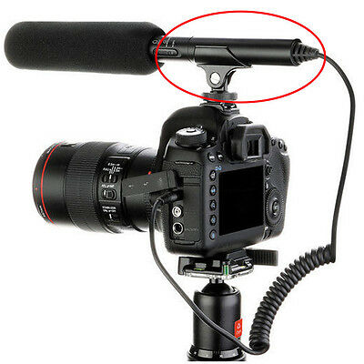 Hot Shoe Microphone Boom Mic Clip Mount Holder Stand for Camcorder Camera New