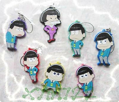 SIX SAME FACES Konya wa Saikou Mr.Osomatsu San Rubber Pendant Keychain Key Chain
