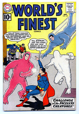 WORLD'S FINEST COMICS #120 F, Superman, Batman, Robin, DC Comics 1961