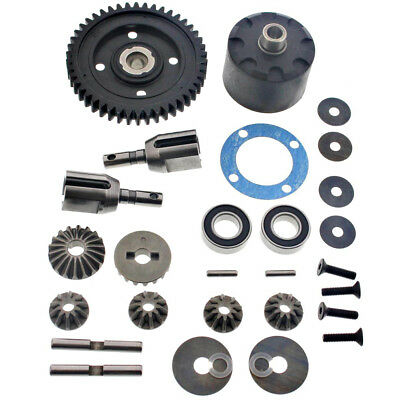 Mugen 1/8 MBX7TR Eco Truggy * CENTER DIFFERENTIAL & 46T SPUR GEAR * Diff Cups
