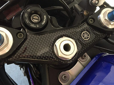 Carbon Fibre Effect Yoke Cover to fit Yamaha YZF R6 2003 - 2004
