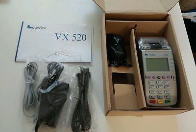 **BRAND NEW** VeriFone Vx520 EMV (chip card)  P/N M252-753-03-NAA-3 **UNLOCKED**