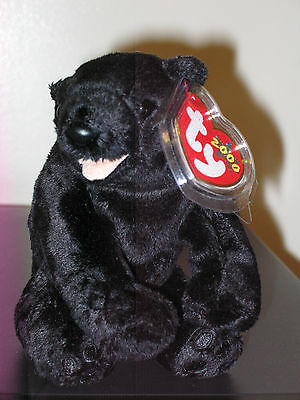 Ty Beanie Baby ~ CINDERS the Bear ~ MINT with MINT TAGS ~ RETIRED