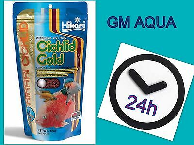 HIKARI CICHLID GOLD SINKING 100g ,342g* Tropical Fish Food*MINI,MEDIUM Pellets