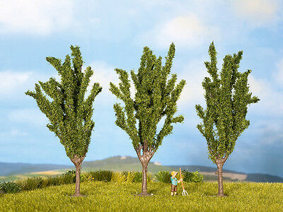 Noch Z Scale 25525 Poplar Trees 3-Pack *NEW $0 Shipping
