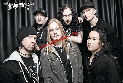 "DragonForce Heavy Metal Band Music Poster #1 24""x35"""