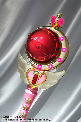 Bandai Sailor Moon Cutie Moon Rod 1:1 Proplica Preordine New In Stock