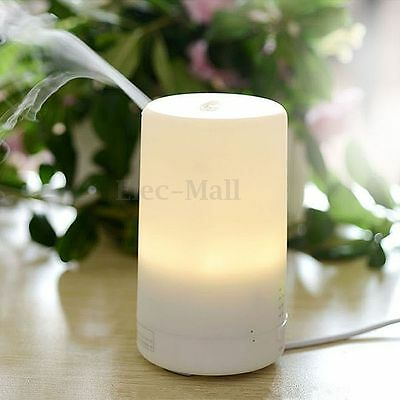 Ultrasonic Mini LED USB Essential Oil Air Humidifier Aromatherapy Aroma Diffuser