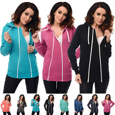 Purpless Maternity 3in1 Pregnancy and Nursing Hoodie Sweatshirt Top 9053