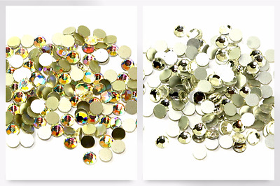 Stick-On Foil Backed Diamante Stones - per pack of 144 (42411110SS20-M)