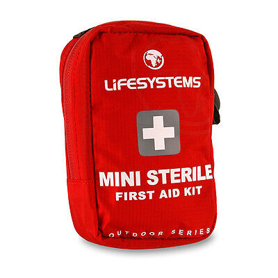 Lifesystems Mini Sterile First Aid Kit, sterile kit for when you need your own.