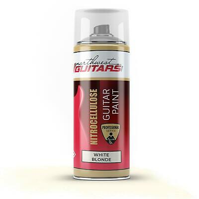 White Blonde Nitrocellulose Guitar Paint / Lacquer Aerosol - 400ml