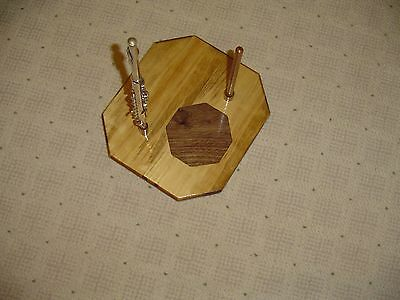 Hardwood Flute Piccolo Stand Made By Tj Woodworm