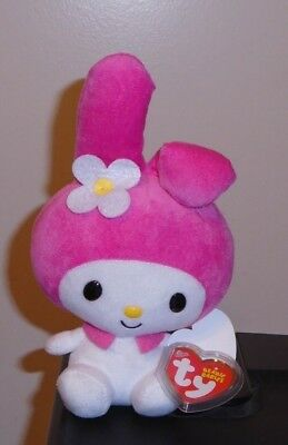 Ty Beanie Baby ~ MY MELODY - (HELLO KITTY SANRIO) - MINT with MINT TAGS