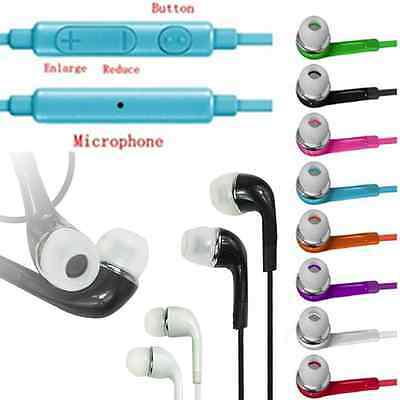 In-Ear Headset Earphone Headphone Earbud w/Mic For Samsung Galaxy S6/S3/S4/S5
