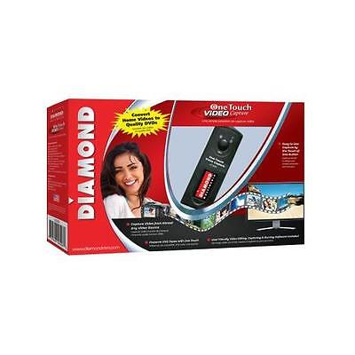 DIAMOND VC500 One Touch Video Capture Edit Stream or Burn to DVD USB 2.0