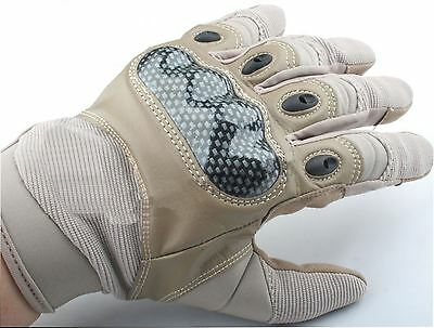 Airsoft Tactical Gloves Uk Delivery Tan De Sand Xl Protector Carbon