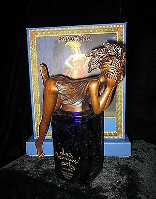 Les Beaux Arts Papagena Ernst Fuchs Signed Limited Edition Perfume Bronze No 9