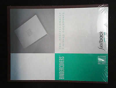 "Maroon Powis Parker Strip Matching Binder Cover Stock 8.5"" x11"", Binder Machine!"