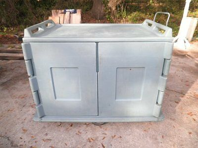 Cambro MDC1520 Meal Tray Delivery Cart Mobile Food Warmer Warming Cabinet NR
