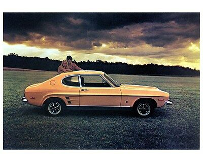 1973 Ford Capri Factory Photo ca4152