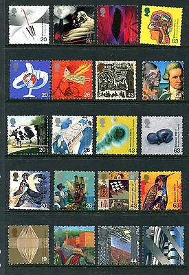 Great Britain 1839-1886, 1999 Achievements, 12 Complete Sets, Mnh, (Id4981)