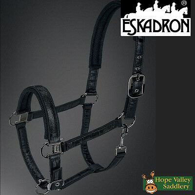 Eskadron Platinum Satin Crystal Bing Headcollar (427 02 14) FREE UK Shipping