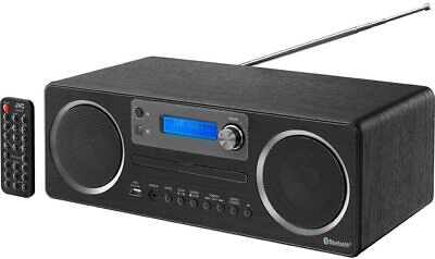 JVC RD D70 CD Player MP3 Mini Micro Hi-Fi DAB & FM Radio With USB Bluetooth AUX