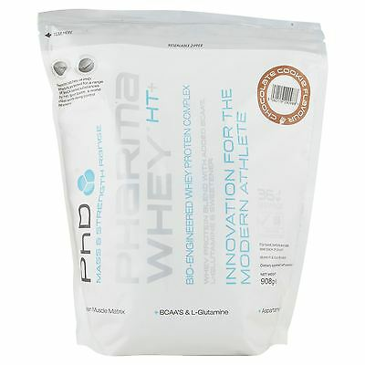 PhD Pharma Whey Chocolate Cookie Flavour 908g