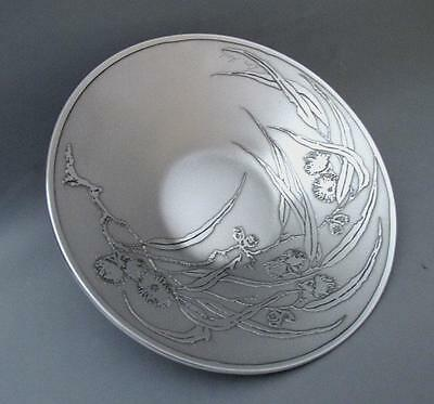 Signed Don Sheil Flowering Gumleaf Bowl Sheil Abbey Australiana Gum Leaf 185Mm