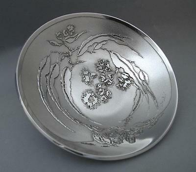 Signed Don Sheil Flowering Gumleaf Bowl Sheil Abbey Australiana Gum Leaf