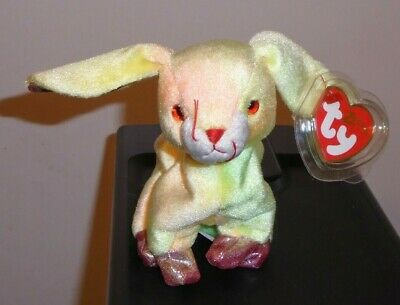 Ty Beanie Baby ~ RABBIT (Chinese ZODIAC) ~ MINT with MINT TAGS ~ RETIRED