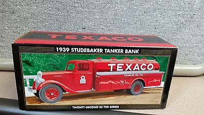 2005 TEXACO 1939 STUDEBAKER TANKER TRUCK #22 REGULAR  EDITION Ertl MIB NEW