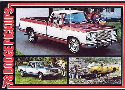 1978 Dodge Club Crew Cab Truck Postcard pc699-K3QV5C