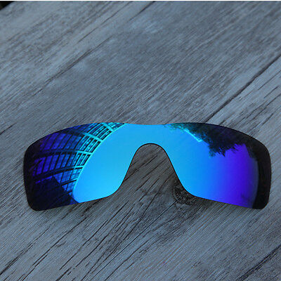 New Polarized Replacement lenses for-Oakley Batwolf Sunglasses ice blue