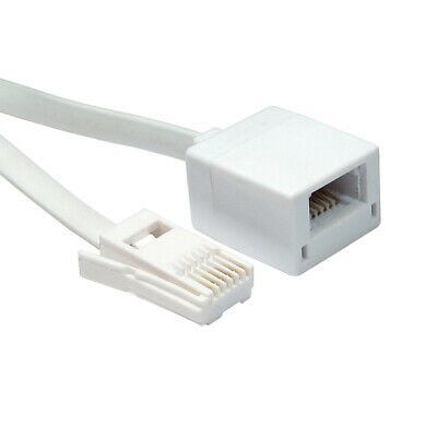 BT Telephone Extension Cable Lead Phone Line Fax Modem Socket