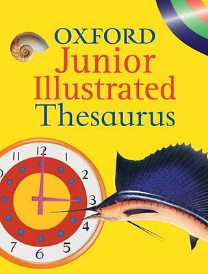 Oxford Junior Illustrated Thesaurus By Alan Spooner, Peter Viss .9780199108596