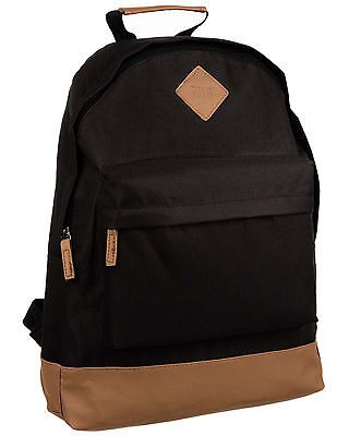 NEW Mens & Boys Black Backpack Rucksack Bag - SPORT SCHOOL TRAVEL 214 BORDERLINE