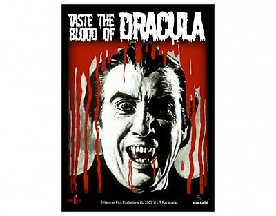 HAMMER HORROR taste the blood of dracula - WOVEN SEW ON PATCH official