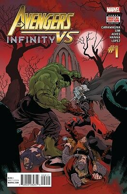 Avengers vs Infinity #1 RECALLED VERSION Marvel 1st Print NM