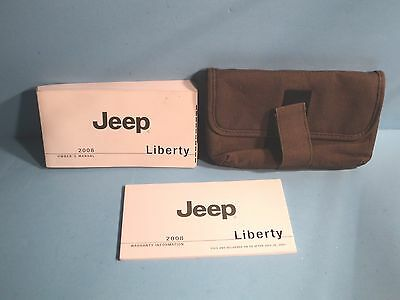 08 2008 Jeep Liberty owners manual