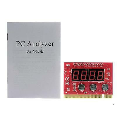 Useful PC 4-Digit Code Mainboard Motherboard Diagnostic Analyzer Tester PCI Card