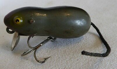 Collectible Antique Fishing Lure: Mouse (paw paw, Heddon)
