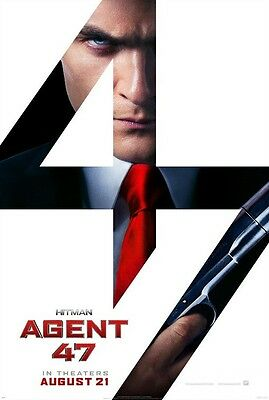 Hitman Agent 47 - original DS movie poster - D/S 27x40 Adv B
