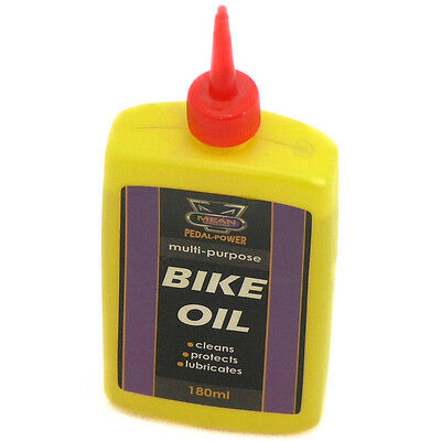 Bike Oil Can Bicycle Cycle Chain Lubricant Rust Protection Cleans 150ml