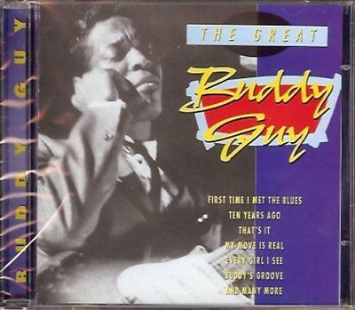 Great Buddy Guy - CD, First Time I Met The Blues, Ten Years Ago, That's It u.v.m