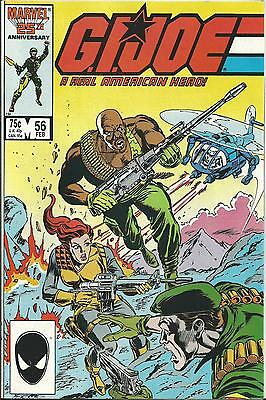G.i.joe: A Real American Hero #56  (Marvel) (1987)