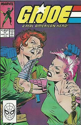 G.i.joe: A Real American Hero #77  (Marvel) (1988) Vf/nm