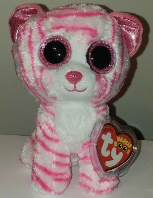 Ty Beanie Boos ~ ASIA the Tiger (6 Inch)(European Exclusive) NEW MWMT